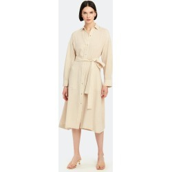 Belted Midi Shirt Dress - M - Also in: XXS, S, XL, XS, L found on Bargain Bro Philippines from Verishop Inc for $321.00