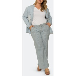 Mona High Rise Full Length Wide Leg Denim Pants - 22 - Also in: 18, 16, 14, 20 found on MODAPINS from Verishop Inc for USD $78.00