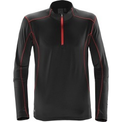 Stormtech Mens Pulse Fleece Pullover (Black/Red) - 2XL found on Bargain Bro Philippines from Verishop Inc for $40.95