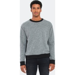 French Terry Rib Panel Crewneck Sweatshirt - L - Also in: XL, M found on Bargain Bro Philippines from Verishop Inc for $85.50
