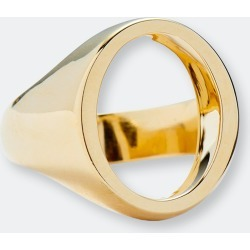 Open Signet Ring In Gold - 8 - Also in: 6, 7 found on Bargain Bro from Verishop Inc for USD $94.24