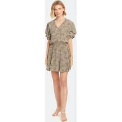 Russel Leopard Print Mini Dress - M - Also in: L, S, XS found on Bargain Bro Philippines from Verishop Inc for $278.00