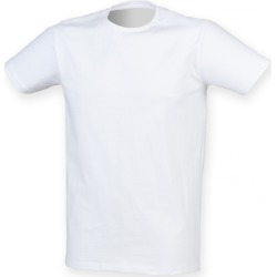 Skinni Fit Men Mens Feel Good Stretch Short Sleeve T-Shirt (White) - M - Also in: S, XL, 2XL, L found on Bargain Bro Philippines from Verishop Inc for $18.45