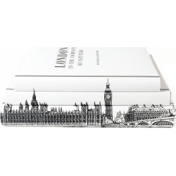 Juniper Books Set-Of-Three London Hardcover Books
