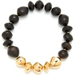 Vhernier 18K Pink Gold And Ebony Trottola Necklace found on Bargain Bro India from Moda Operandi for $25250.00