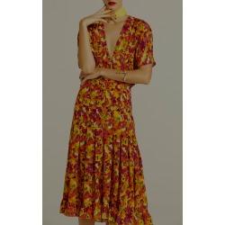 Adriana Degreas Fruits Print Midi Dress found on MODAPINS from Moda Operandi for USD $294.00