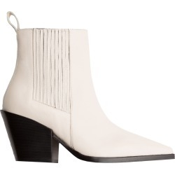 Aeyde Kate Leather Booties found on MODAPINS from Moda Operandi for USD $425.00