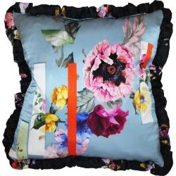 Preen by Thornton Bregazzi Printed Silk-Satin Pillow found on Bargain Bro UK from moda operandi uk