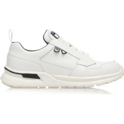Prada Lace-Up White Work Sneakers found on Bargain Bro Philippines from Moda Operandi for $790.00