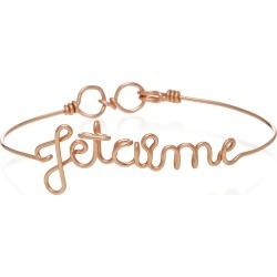 Atelier Paulin Je T'aime 14K Rose Gold Bracelet found on Bargain Bro Philippines from Moda Operandi for $295.00