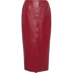 Marni Fitted Leather Knee-Length Pencil Skirt Size: 36 found on Bargain Bro Philippines from Moda Operandi for $2090.00