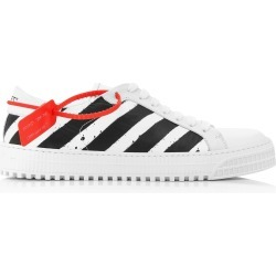 Off-White c/o Virgil Abloh 3.0 Diagonal Leather Sneakers found on Bargain Bro Philippines from Moda Operandi for $595.00