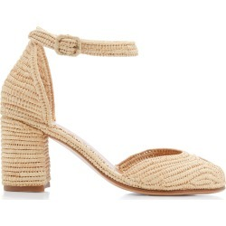 Carrie Forbes Laila Raffia Sandals found on Bargain Bro Philippines from Moda Operandi for $114.00