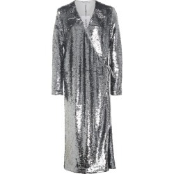Ganni Sequined Wrap Dress found on MODAPINS from Moda Operandi for USD $540.00