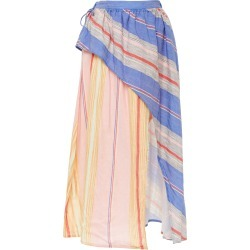 A Peace Treaty Tarouba Mixed Skirt found on MODAPINS from Moda Operandi for USD $175.00
