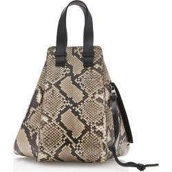 Loewe Hammock Small Leather-Trimmed Python Bag found on Bargain Bro Philippines from Moda Operandi for $4590.00