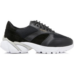 Axel Arigato Tech Runner Core Leather-Trimmed Mesh Sneakers found on MODAPINS from moda operandi uk for USD $194.42