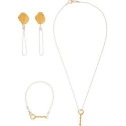 Alighieri - Boucles d'oreille, collier et bracelet en or found on MODAPINS from matchesfashion.com fr for USD $572.00