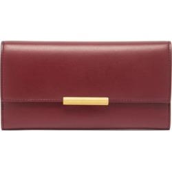Bottega Veneta - Continental Leather Wallet - Womens - Burgundy found on Bargain Bro UK from Matches UK