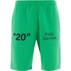 Off-white - X Mirko Cotton Shorts - Mens - Green Multi found on Bargain Bro India from MATCHESFASHION.COM - AU for $172.37