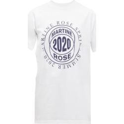 Martine Rose - T-shirt modulable à imprimé logo found on Bargain Bro India from matchesfashion.com fr for $188.50