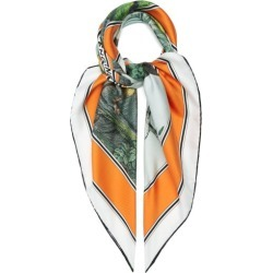 Burberry - Monkey-print Silk Scarf - Womens - Multi found on Bargain Bro India from Matches Global for $836.00