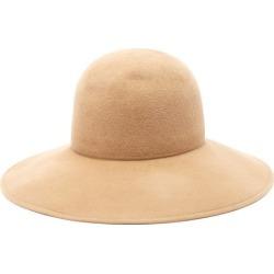 Lola Hats - Biba Wide-brimmed Felt Hat - Womens - Camel