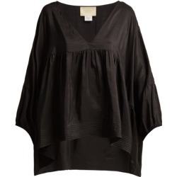 Anaak - Airi Silk Satin Blouse - Womens - Black found on MODAPINS from Matches UK for USD $438.26