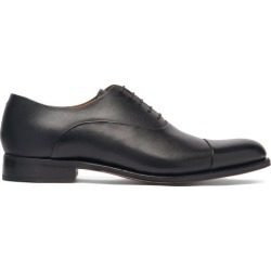 Grenson - Bert Leather Oxford Shoes - Mens - Black found on MODAPINS from Matches Global for USD $303.00