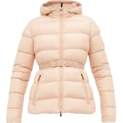 Moncler - Rhin Lacquered Quilted-down Jacket - Womens - Light Pink found on Bargain Bro India from Matches Global for $1385.00
