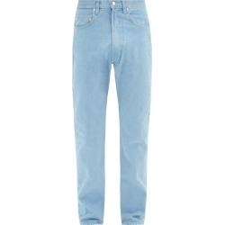 E. Tautz - Contrast-stitch Slim-fit Jeans - Mens - Light Blue found on MODAPINS from MATCHESFASHION.COM - AU for USD $244.53