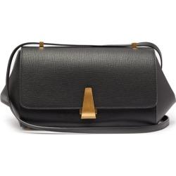Bottega Veneta - The Angle Grained-leather Shoulder Bag - Womens - Black found on Bargain Bro from MATCHESFASHION.COM - AU for USD $2,529.06