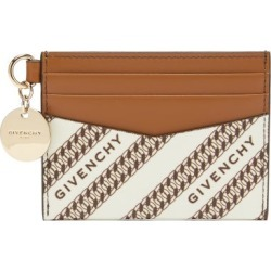 Givenchy - Bond Logo-jacquard Canvas And Leather Cardholder - Womens - Beige found on Bargain Bro India from Matches Global for $205.00
