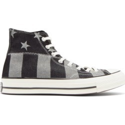 Converse - Chuck 70 Striped High-top Canvas Trainers - Mens - Black Multi found on Bargain Bro UK from Matches UK