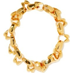 Jil Sander - Chain-link Choker - Womens - Gold found on Bargain Bro UK from Matches UK