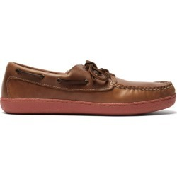 Quoddy - Chaussures bateau en cuir Runabout found on Bargain Bro Philippines from matchesfashion.com fr for $191.10