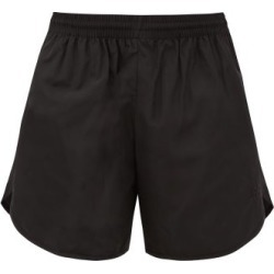 Balenciaga - Bb-embroidered Shell Shorts - Womens - Black found on Bargain Bro India from MATCHESFASHION.COM - AU for $635.15