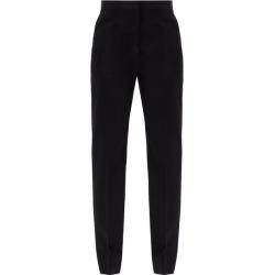 Jil Sander - Mang Fleece-wool Gabardine Trousers - Womens - Navy found on Bargain Bro UK from Matches UK