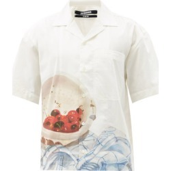 Jacquemus - Jean Cherry-print Cotton Shirt - Mens - White found on Bargain Bro UK from Matches UK