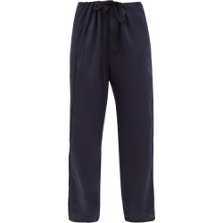 Araks - Ally Silk-charmeuse Pyjama Trousers - Womens - Navy found on MODAPINS from Matches Global for USD $166.00
