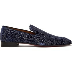 Christian Louboutin - Mocassins en velours Dandelion found on Bargain Bro Philippines from matchesfashion.com fr for $1033.50