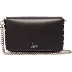 Christian Louboutin - Zoompouch Fold-over Leather Bag - Womens - Black Multi found on Bargain Bro Philippines from Matches Global for $1090.00
