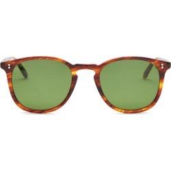 Garrett Leight - Kinney Round Tortoiseshell-acetate Sunglasses - Mens - Tortoiseshell found on MODAPINS from MATCHESFASHION.COM - AU for USD $393.55