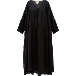 Anaak - Airi Silk Maxi Dress - Womens - Black found on MODAPINS from Matches UK for USD $528.94