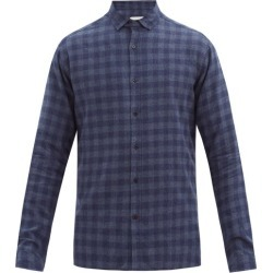 Oliver Spencer - Chemise en flanelle de coton Clerkenwell found on MODAPINS from matchesfashion.com fr for USD $179.40