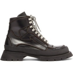 Jil Sander - Lace-up Leather Boots - Mens - Black found on Bargain Bro UK from Matches UK