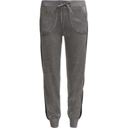 Bella Freud - Goldie Libertine Lurex Track Pants - Womens - Silver found on MODAPINS from Matches UK for USD $412.91