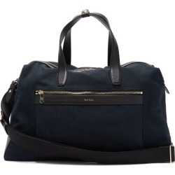 Paul Smith - Leather-trimmed Canvas Holdall - Mens - Navy found on Bargain Bro UK from Matches UK