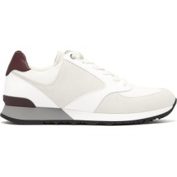 John Lobb - Foundry Suede, Mesh And Leather Trainers - Mens - White found on MODAPINS from Matches UK for USD $881.49
