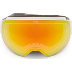 Zeal Optics - Portal Interchangeable Lens Ski Goggles - Womens - Orange White found on Bargain Bro UK from Matches UK